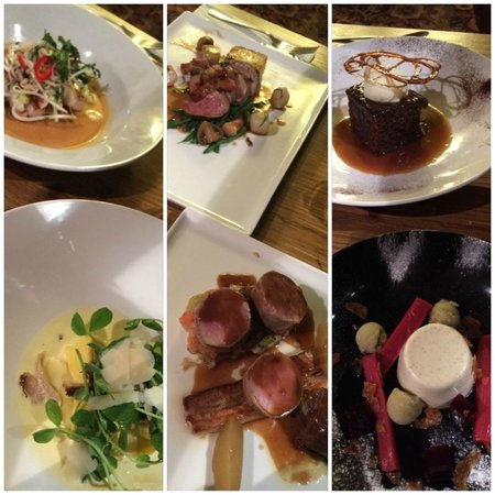 The Wortley Arms: Our 3 courses