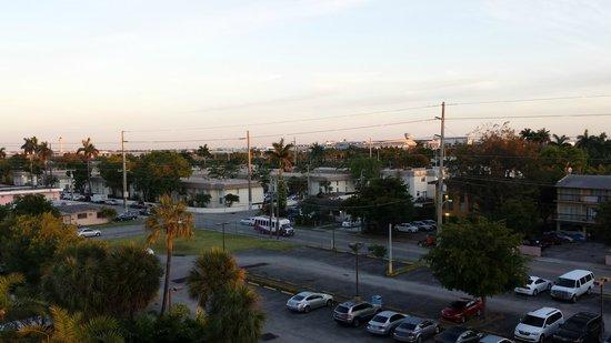 Regency Hotel Miami: Vista da sacada de meu apartamento