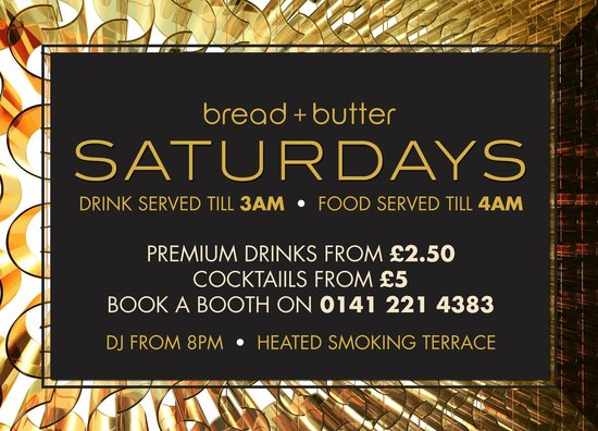 Bread and Butter Glasgow: Saturday