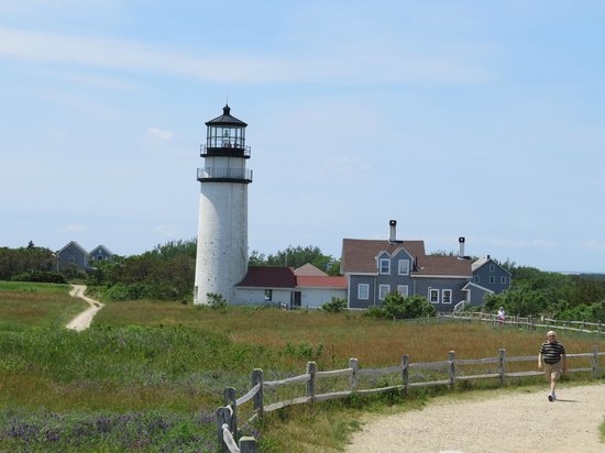 Highland Light: View from the ocean side