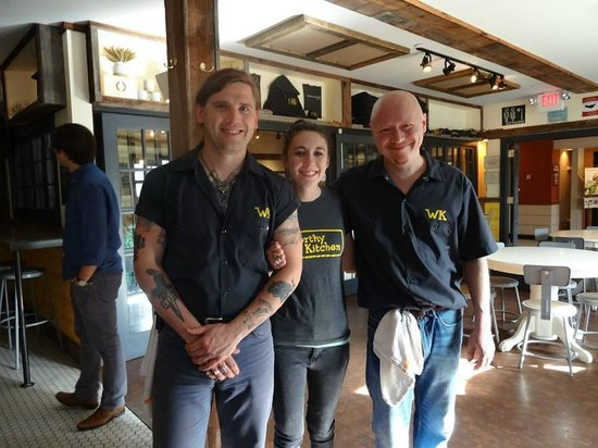 Worthy Kitchen: Great Staff