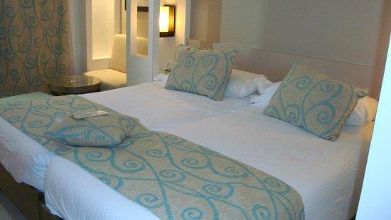 Hôtel Palm Azur : Chambre