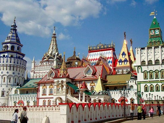 Moscow Private Tours : Izmaylovo Kremlin