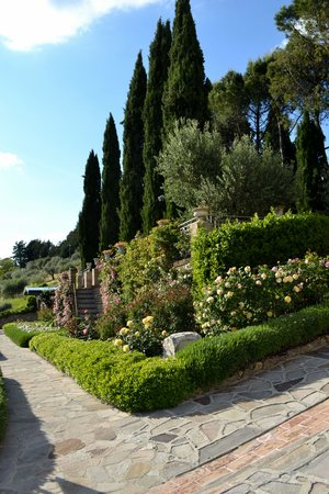 Castello di Monterone: Giardino fiorito