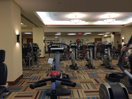Stowe Mountain Lodge : fitness room