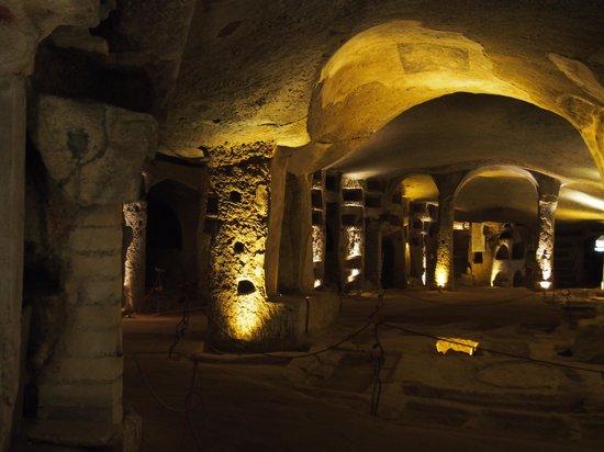 Catacombe di San Gennaro: Eerie spaces
