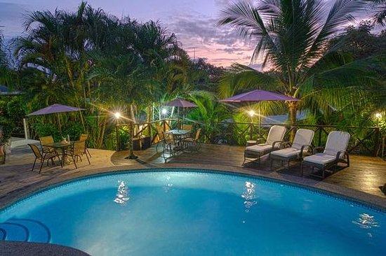 Hotel Oasis: pool area