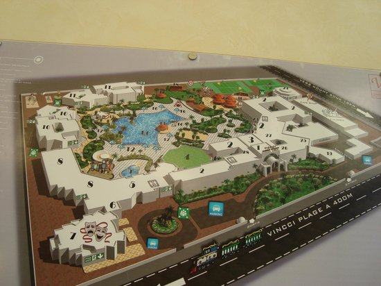Vincci Resort Djerba: Plan hotel