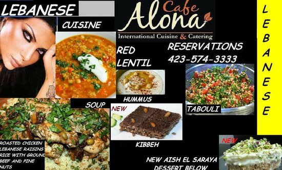 Cafe Alona: THURS 22nd - SAT 24th