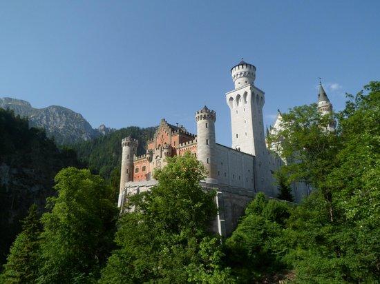 Castillo de Neuschwanstein: лето 2013