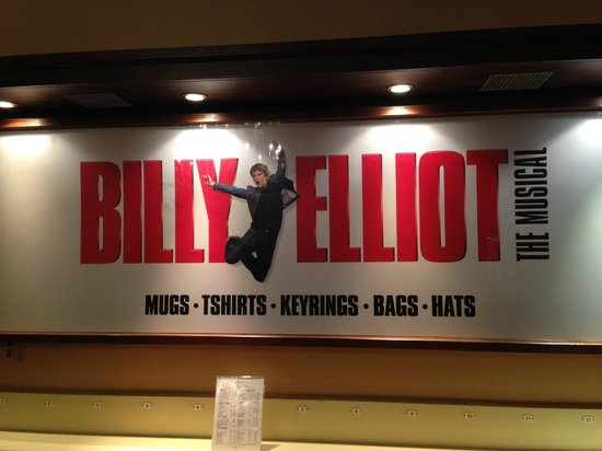 Billy Elliot The Musical : inside