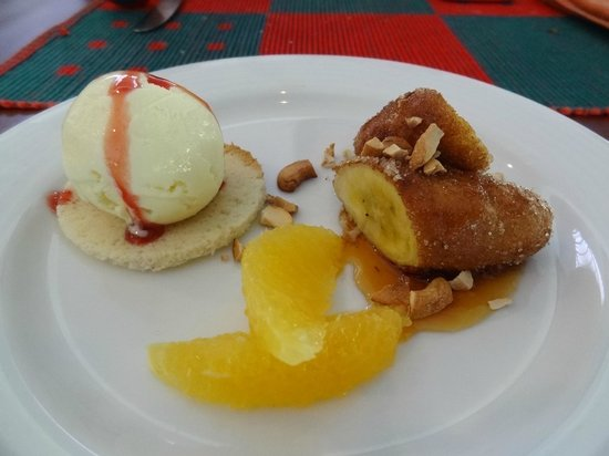 Kassapa Lions Rock: Dessert