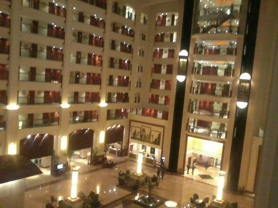 The Leela Mumbai : Inside lobby view