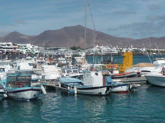 Marina Rubicón: Décor volcanique typique de Lanzarote