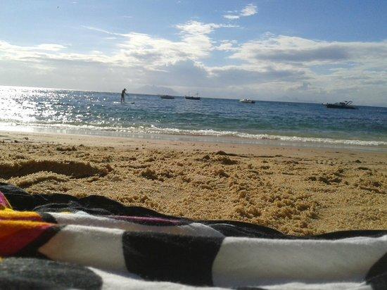 Pousada Alcobara : Praia