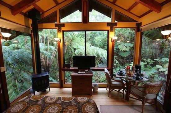 Volcano Village Lodge : Hale Kilauea Room