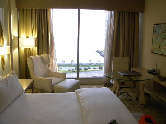 Waldorf Astoria Panama : This is the first room we stayed in.