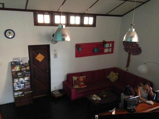 Rio Hostel & Suites Santa Teresa: common area
