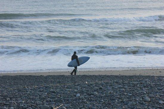 Quileute Oceanside Resort: Loan Surfer LaPush Beach