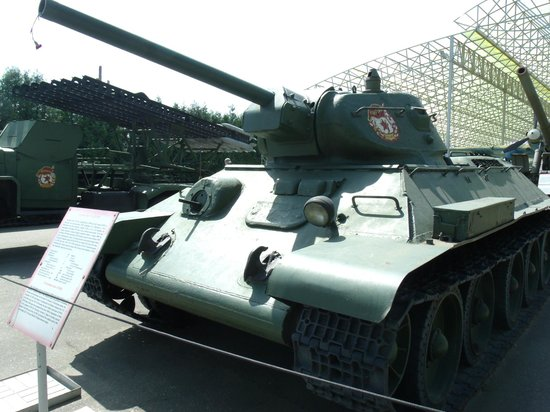Victory Park: The iconic T34 (model 1941)