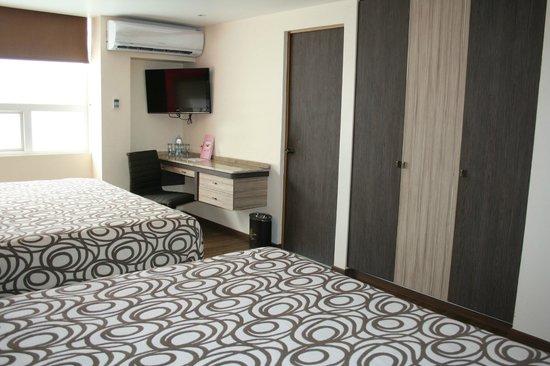 Hotel Plaza Garibaldi : Habitacion doble