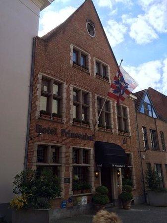 Hotel Prinsenhof Bruges : Hotel Prinsenhof