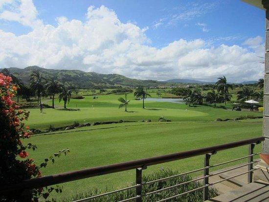 Heritage Golf Club : vue de la terrasse du restaurant