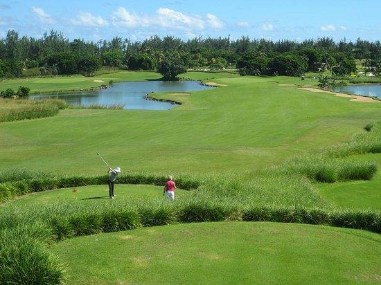 Heritage Golf Club : jolie vue du trou 9
