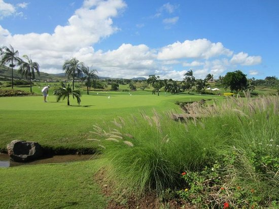 Heritage Golf Club : green d'entrainement