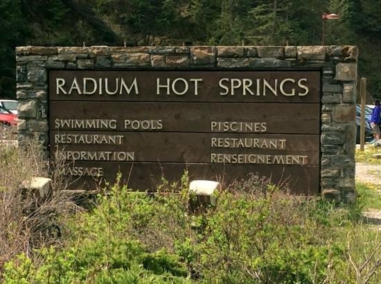 Radium Hot Springs: May 19, 2014