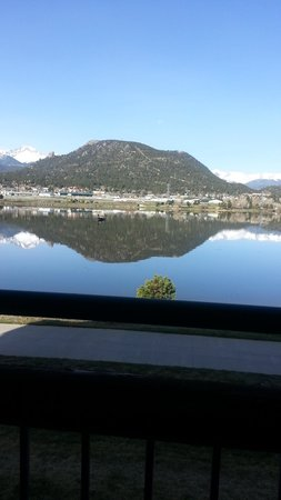 The Estes Park Resort : Spectacular view from our room