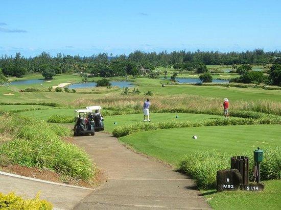 Heritage Golf Club : départ du 8