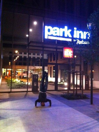 Park Inn by Radisson Brussels Midi: Yay... Holidays!