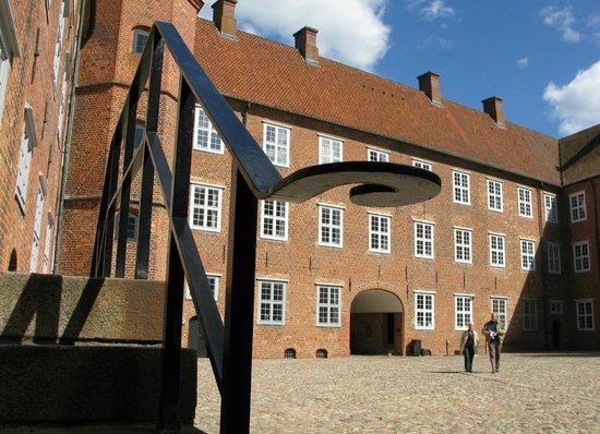 Sønderborg Slot: Slotsgården