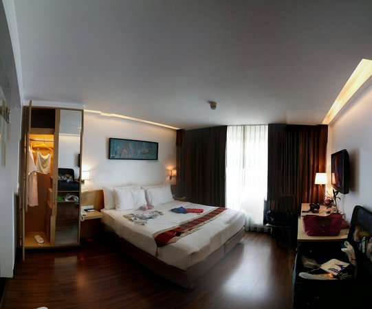 CityPoint Hotel: Duluxe room