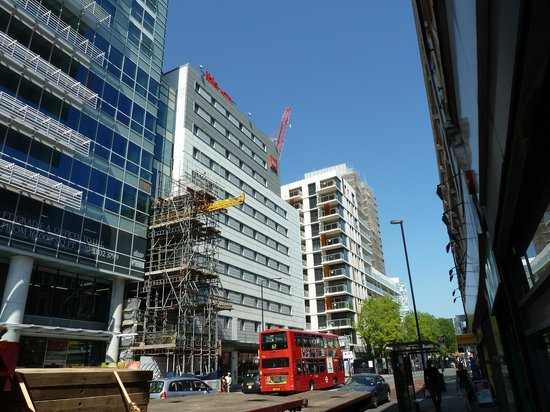 Ibis London City-Shoreditch : Fachada del hotel