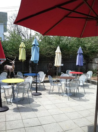 The North End Eatery: North End patio