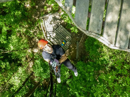 Navitat Canopy Adventures - Asheville Zipline: *