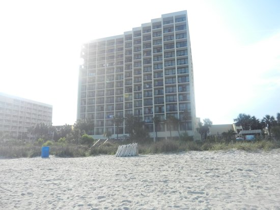 Sea Crest Oceanfront Resort: From the beach