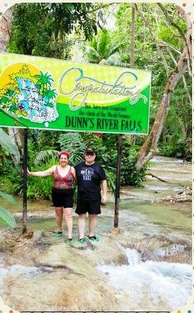 Dunn's River Falls and Park : Dunn's River Falls: Finish Line