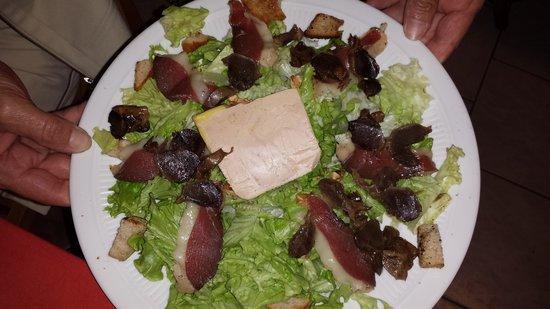 Ferme du Touron: Salade Périgourdine
