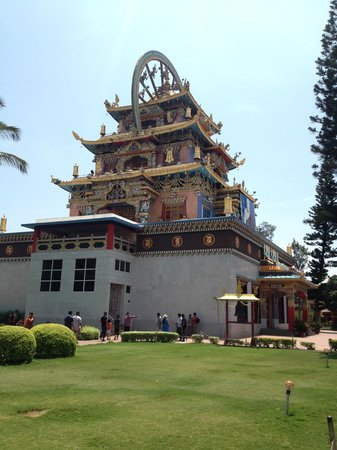 Namdroling Nyingmapa Monastery: external view