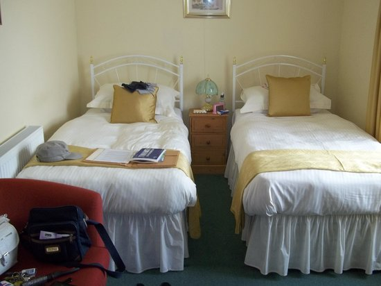 Trewithian Farm B&B: This was our room