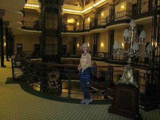 Gran Hotel Ciudad de Mexico: Lobby area