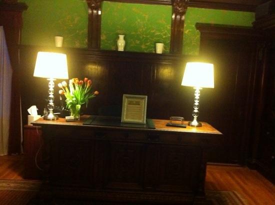 Parker Guest House : reception