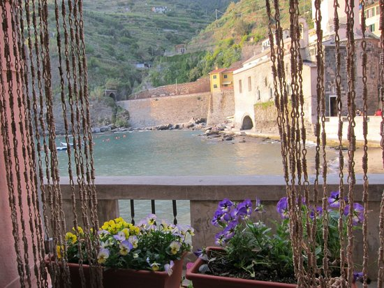 A View From The Charming Room In The Vernazza Harbor Area
