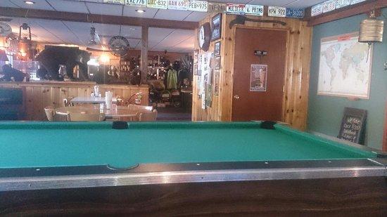 Trail Lake Lodge Restaurant : Innenansicht