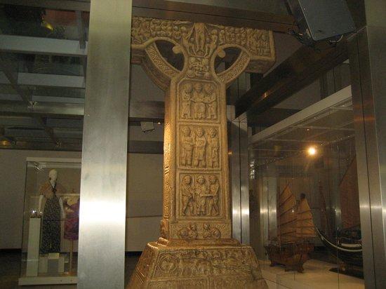 Ulster Museum : Bottom of cross