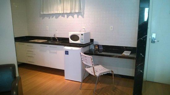 Victory Suites: Cozinha dentro do quarto! MARAVILHOSA SUITE!