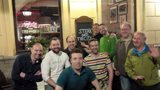 Pimiento Argentino Grill - Old Town : Great steak restaurant Paul's stag do 2014